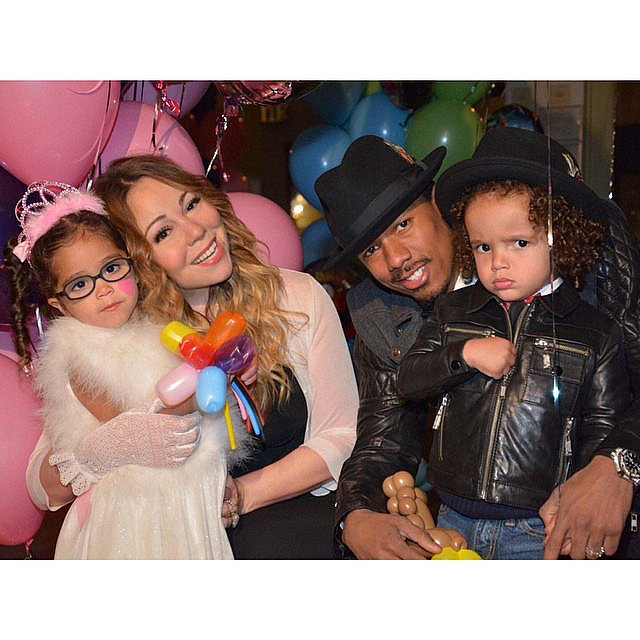 mariah carey and nick cannon celebrated twins monroe and