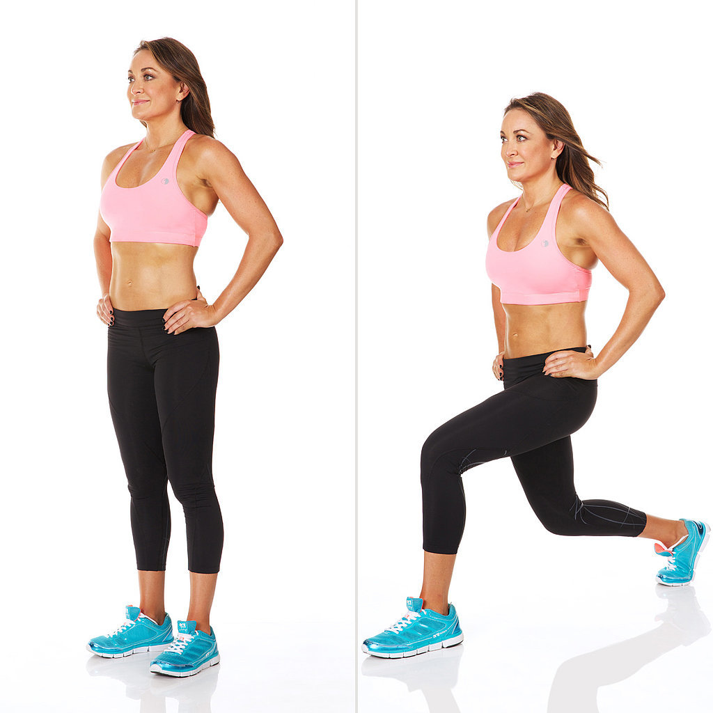 Backward Power Lunge