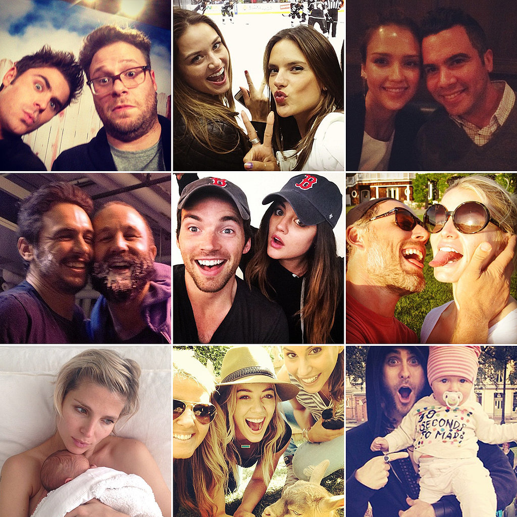 Dynamic Duos and Silly Selfies Make For This Week's Cutest Celebrity Candids