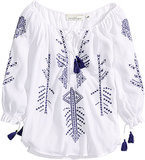 H&M Embroidered Tunic