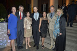 House of Cards actors Molly Parker, Sebastian Arcelus, Sakina Jaffrey, Michael Gill, and Jayne Atkinson met Ambassador Peter Westmacott and his wife, Susie Nemazee, at the Capitol File's party on Friday.