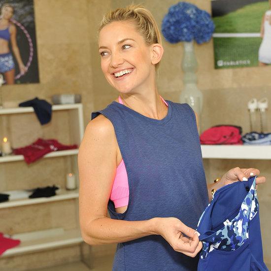 Kate Hudson Promotes Her Fabletics Activewear | Pictures Kate Hudson Activewear