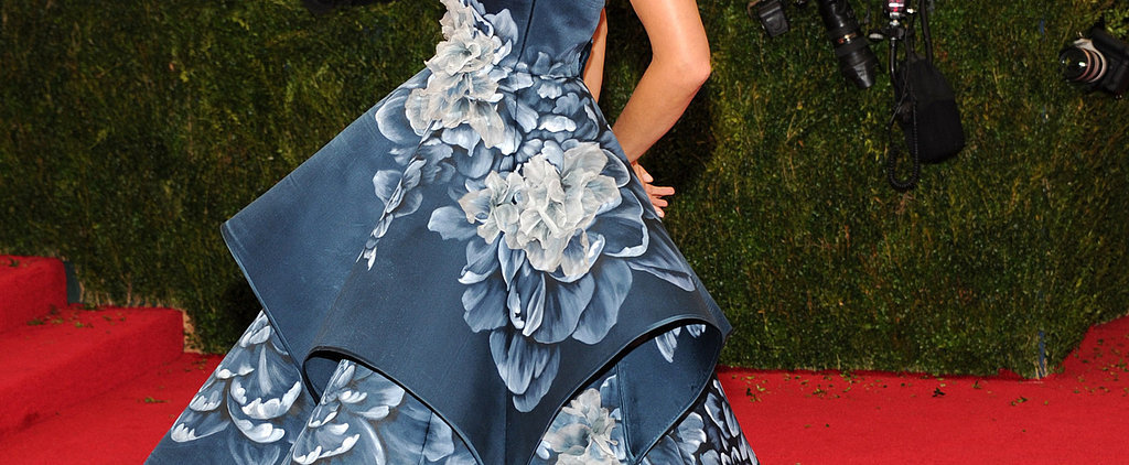 Where a Wallpaper Print Works For a Dress: The Costume Institute Gala