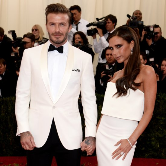 Victoria and David Beckham Pictures at 2014 Met Gala