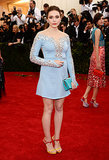 Elizabeth Olsen at the 2014 Met Gala