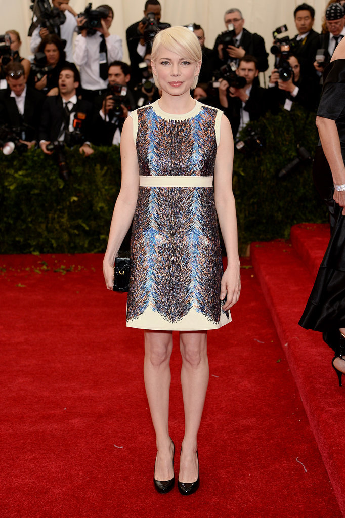 Michelle Williams at the 2014 Met Gala