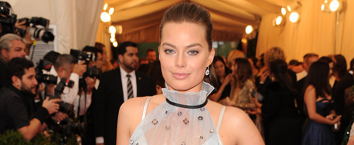 Margot Robbie Is Pretty in Prada at Her First Met Gala