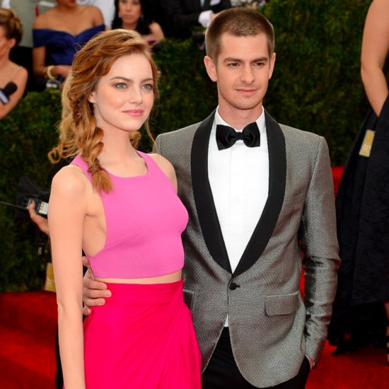 Emma Stone and Andrew Garfield at 2014 Met Gala