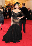 Kate Upton at the 2014 Met Gala