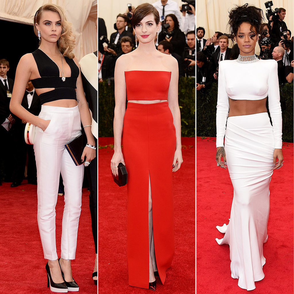 Crop Tops So Good, They Weren't Kicked Out Of The Met Gala