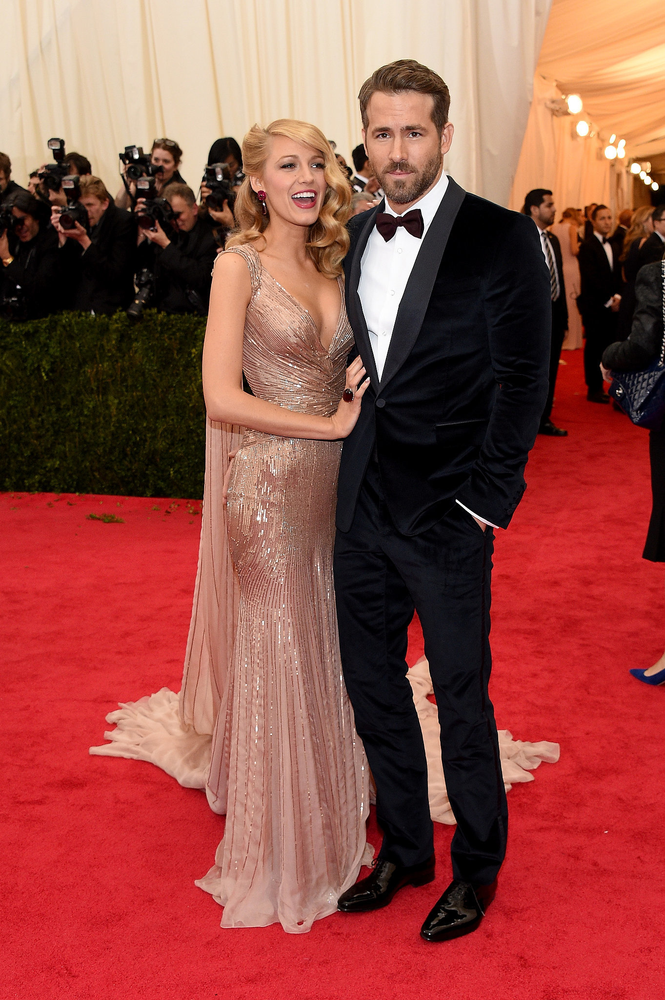 Blake Lively And Ryan Reynolds Go Glam Or Go Home All