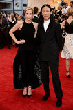 Kristen Wiig and Alexander Wang at the 2014 Met Gala