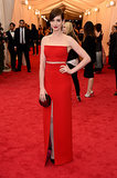Anne Hathaway at the 2014 Met Gala
