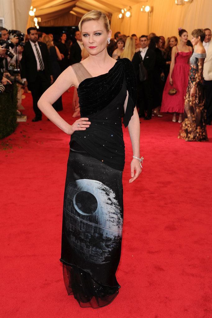 Kirsten Dunst's Met Gala Death Star Dress Is a Day Late For May the Fourth!