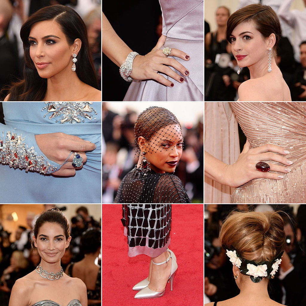 Met Gala 2014 Shoes and Jewelry