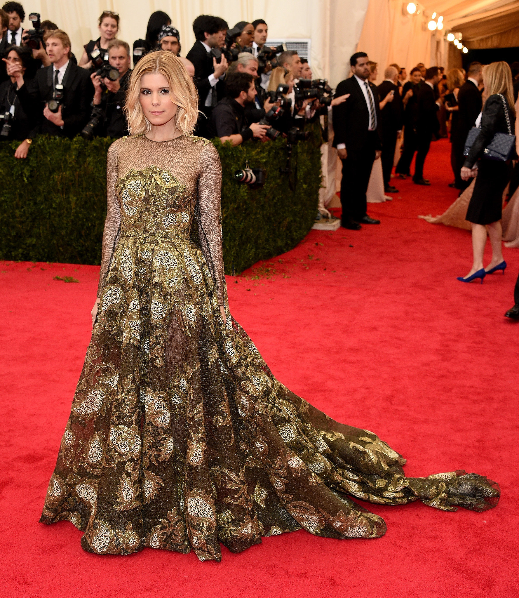 Kate Mara at the 2014 Met Gala