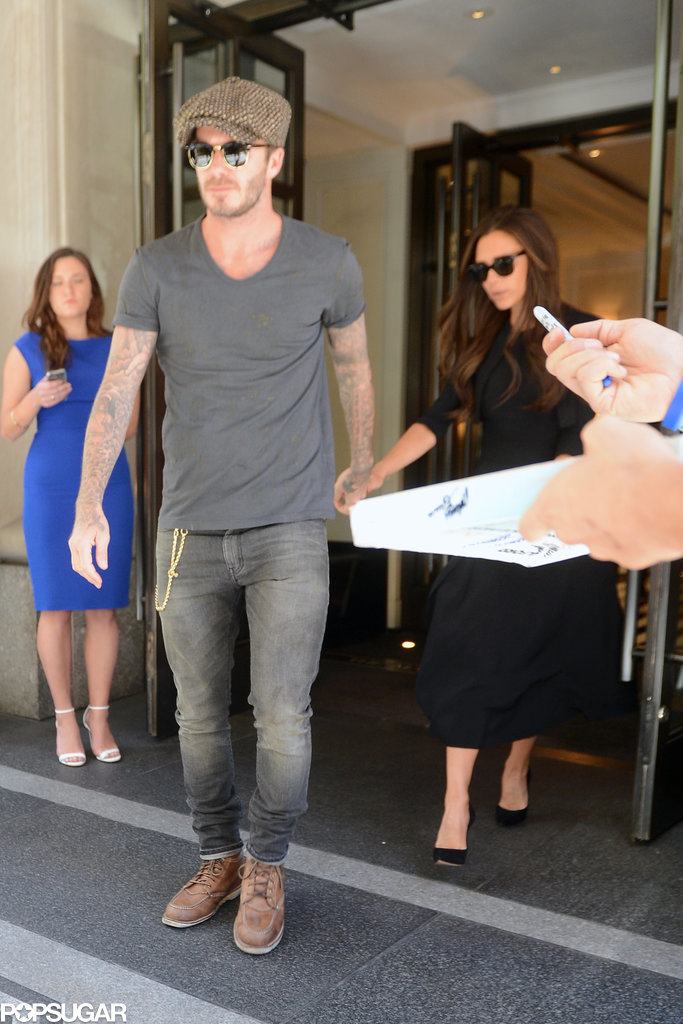 Are David and Victoria Beckham Gearing Up For the Met Gala?
