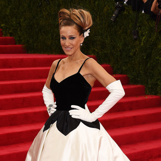Sarah Jessica Parker in Oscar de la Renta at 2014 Met Gala