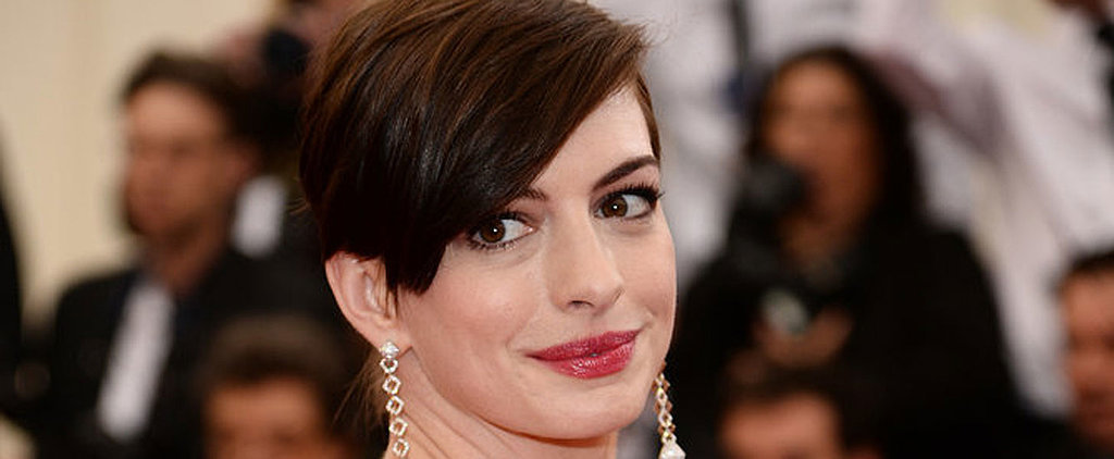We Bring You All Angles of Anne Hathaway's Pixie Crop