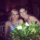 Amy Adams and Tory Burch stayed close. Source: Instagram user amytastley