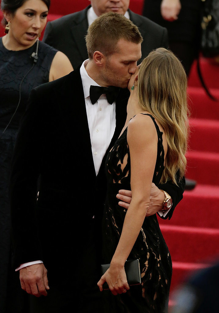 Tom and Gisele Can't Keep Their Hands Off Each Other