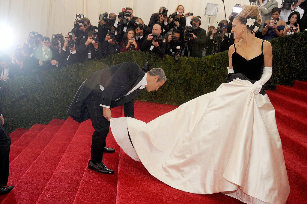 Sarah Jessica Parker in Oscar de la Renta at the 2014 Met Gala