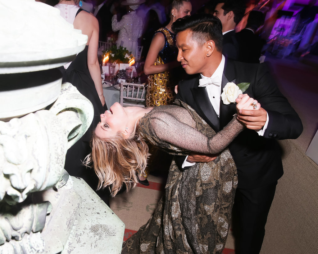Kate Mara got dipped by designer Prabal Gurung.