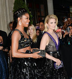 Dianna Agron and Gabrielle Union