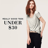 Tees Under $30   Shopping