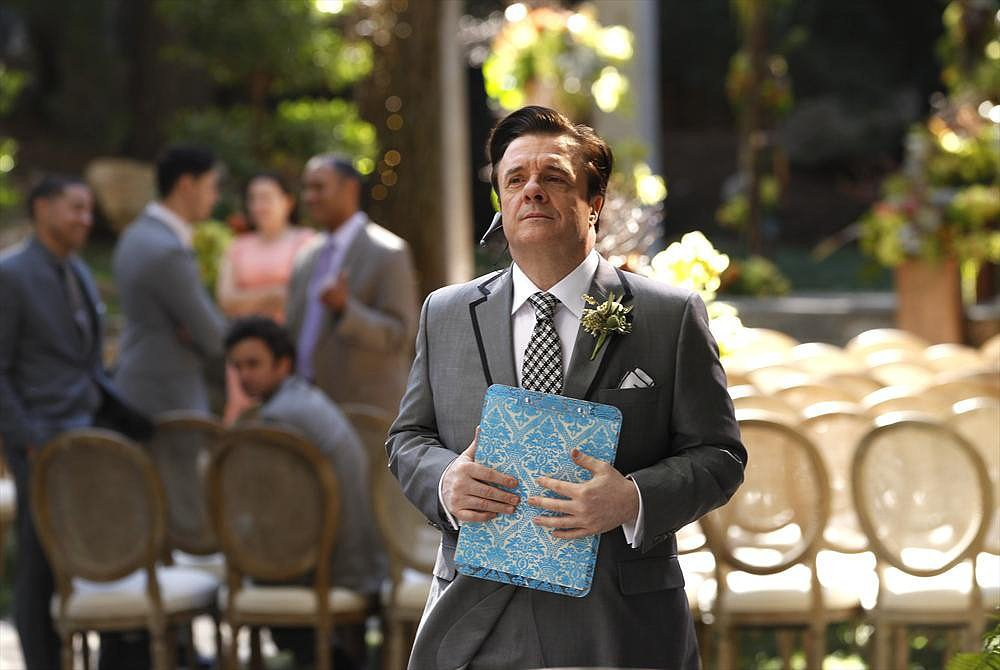 Pepper (Nathan Lane) on Modern Family.