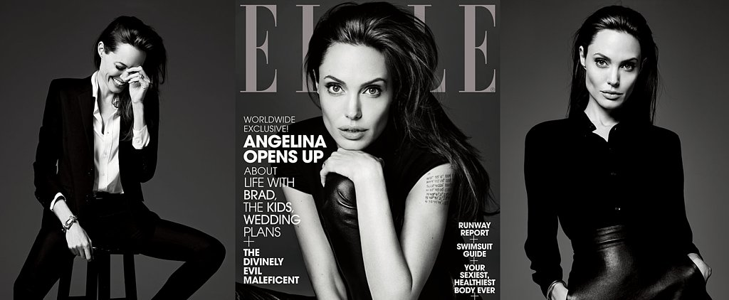"Angelina on How She and Brad ""Drive Each Other Beautifully Crazy"""
