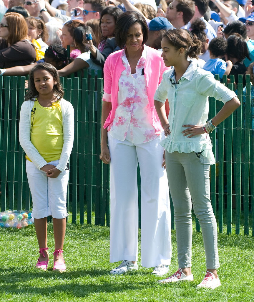 In 2010, the three wore their Sunday best for the annual Easter egg roll.
