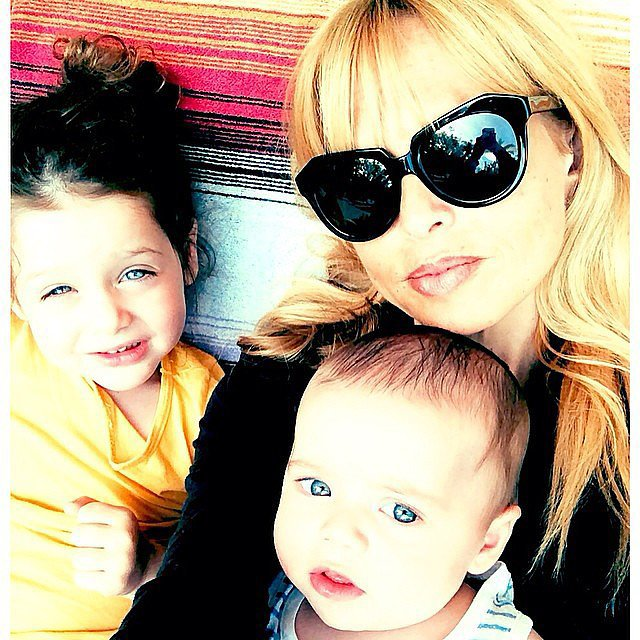 Rachel Zoe With Skyler and Kaius