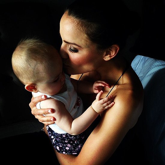 Celebrity Mums and Their Kids on Instagram Pictures