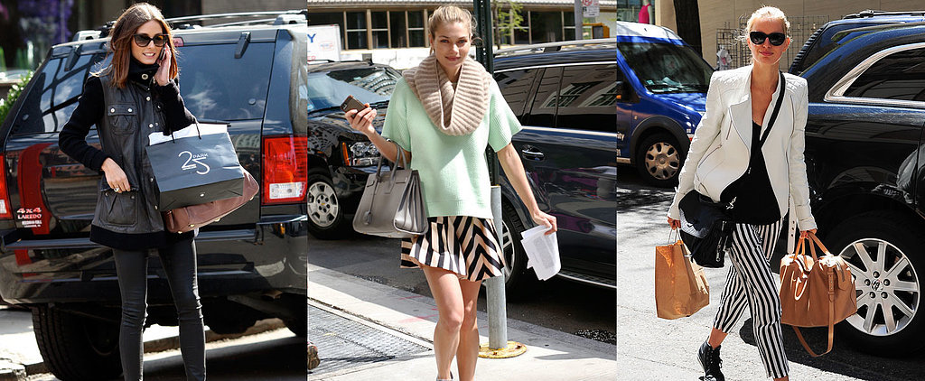 Celeb Street Style: What They Wear Shopping