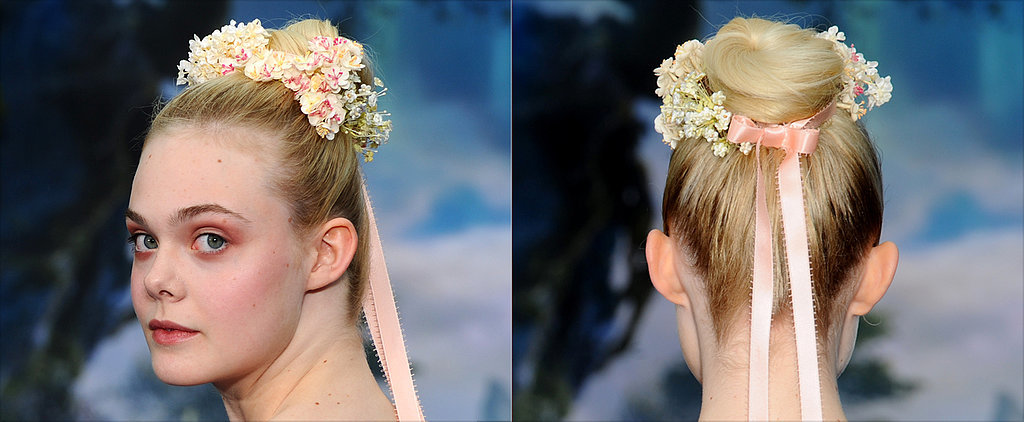 Elle Fanning Is the Ultimate Bridal Flower Child
