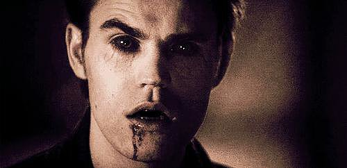 He's even cute as a vampire! OK, maybe not that cute.
