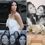 Kim Kardashian Is a Blissful Bride-to-Be at Her Wedding Shower