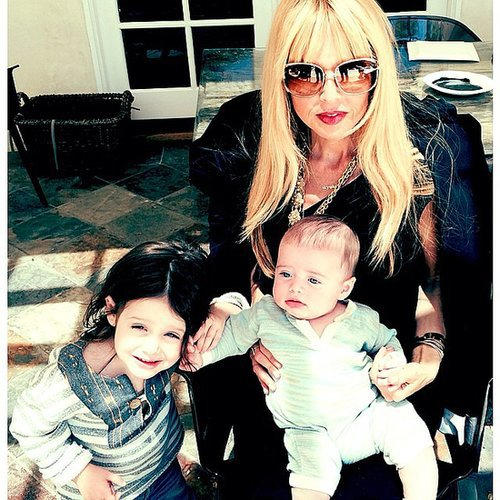 Rachel Zoe celebrated Mother's Day with her sweet boys, Skyler and Kaius Berman. Source: Instagram user rachelzoe