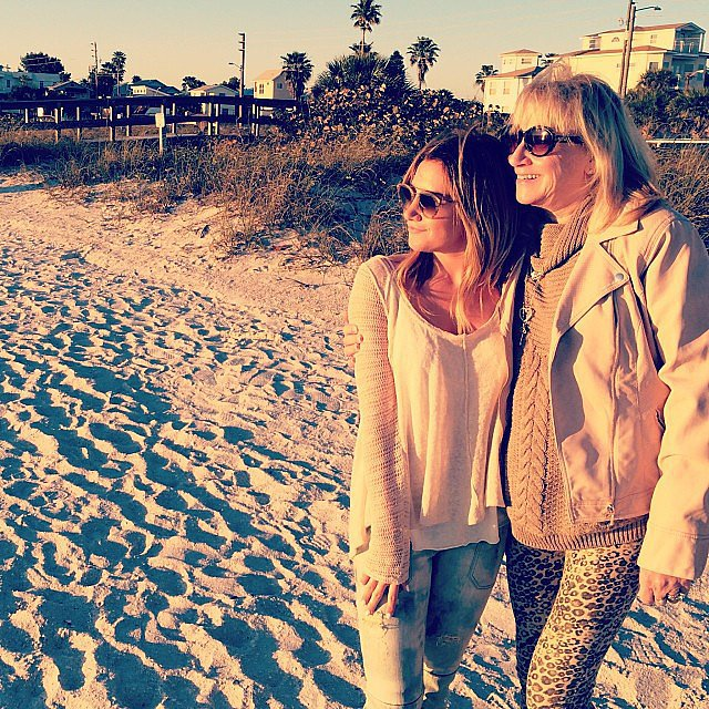 "Ashley Tisdale posted a picture with her mom, Lisa, at the beach. ""Happy Mothers Day to the most supportive and loving mom, I am so thankful for you. You do so much for our family and it doesn't go unnoticed. Love you mommy,"" she wrote.  Source: Instagram user ashleytisdale"