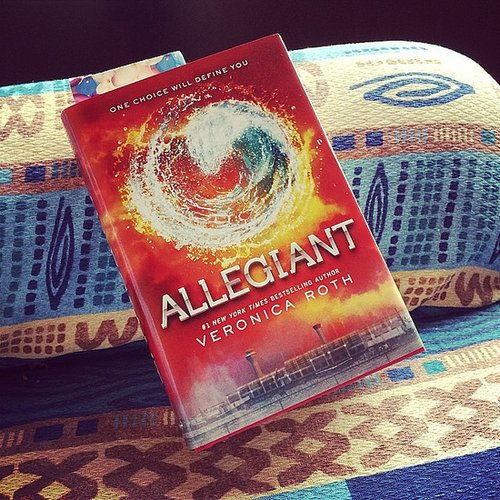 """Tiffanysilver23 shared this quote from Allegiant: """"I fell in love with him. But I don't just stay with him by default as if there's no one else available to me. I stay with him because I choose to, every day that I wake up, every day that we fight or lie to each other or disappoint each other. I choose him over and over again, and he chooses me."""""""