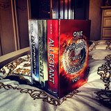 Tiffanysilver23 snapped a pic of Veronica Roth's Divergent series.