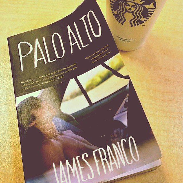 """Always like to read the book first before watching the movie,"" notes travelannestyle along with this photo of Palo Alto by James Franco."