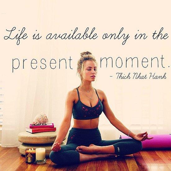 Alessandra Ambrosio Yoga & Fitness Inspiration