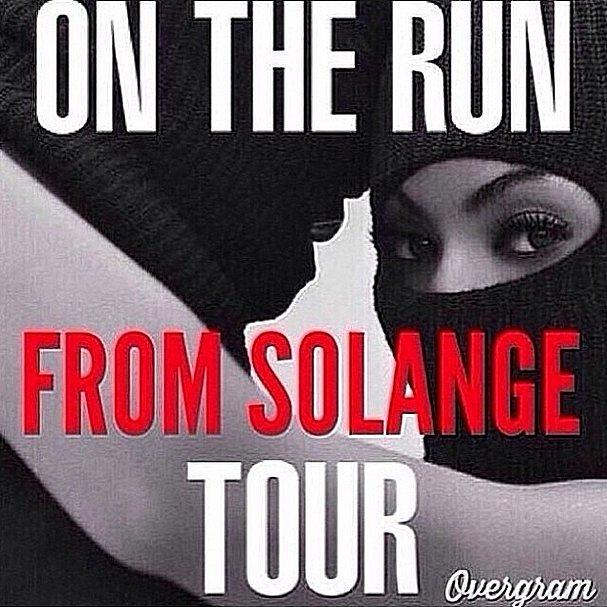 Beyoncé and Jay's New Tour Poster