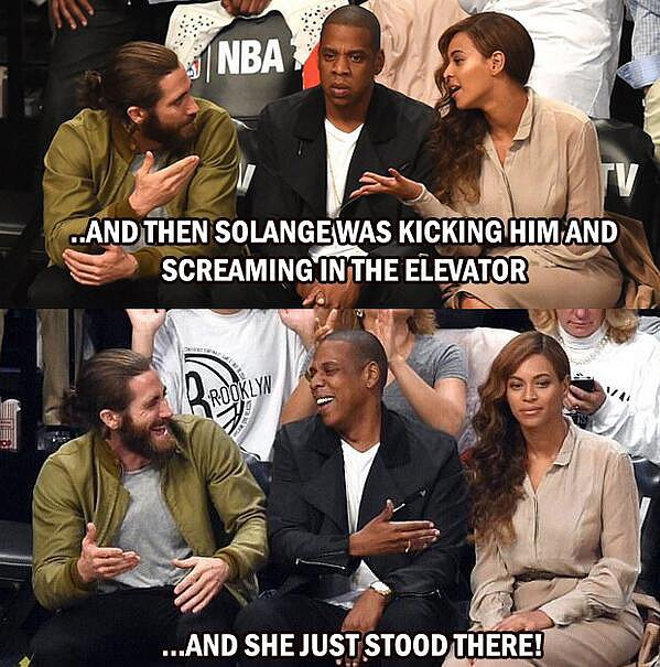 Jay and Bey Explain All to Jake Gyllenhaal