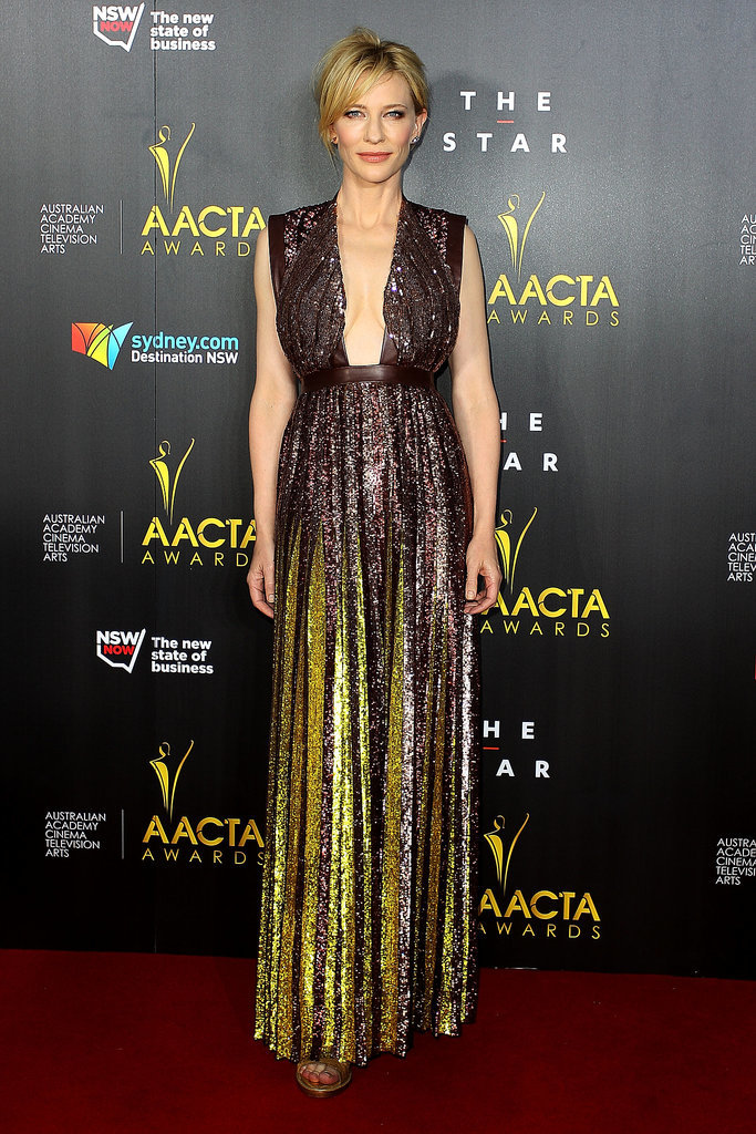 Cate Blanchett in Sequined Givenchy at the 2014 AACTA Awards