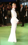 Cate Blanchett in White Givenchy for the 2012 The Hobbit: An Unexpected Journey Royal Film Performance