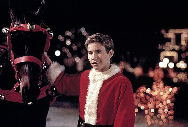 Not Even a Santa Suit Could Hide His Heartthrob Appeal