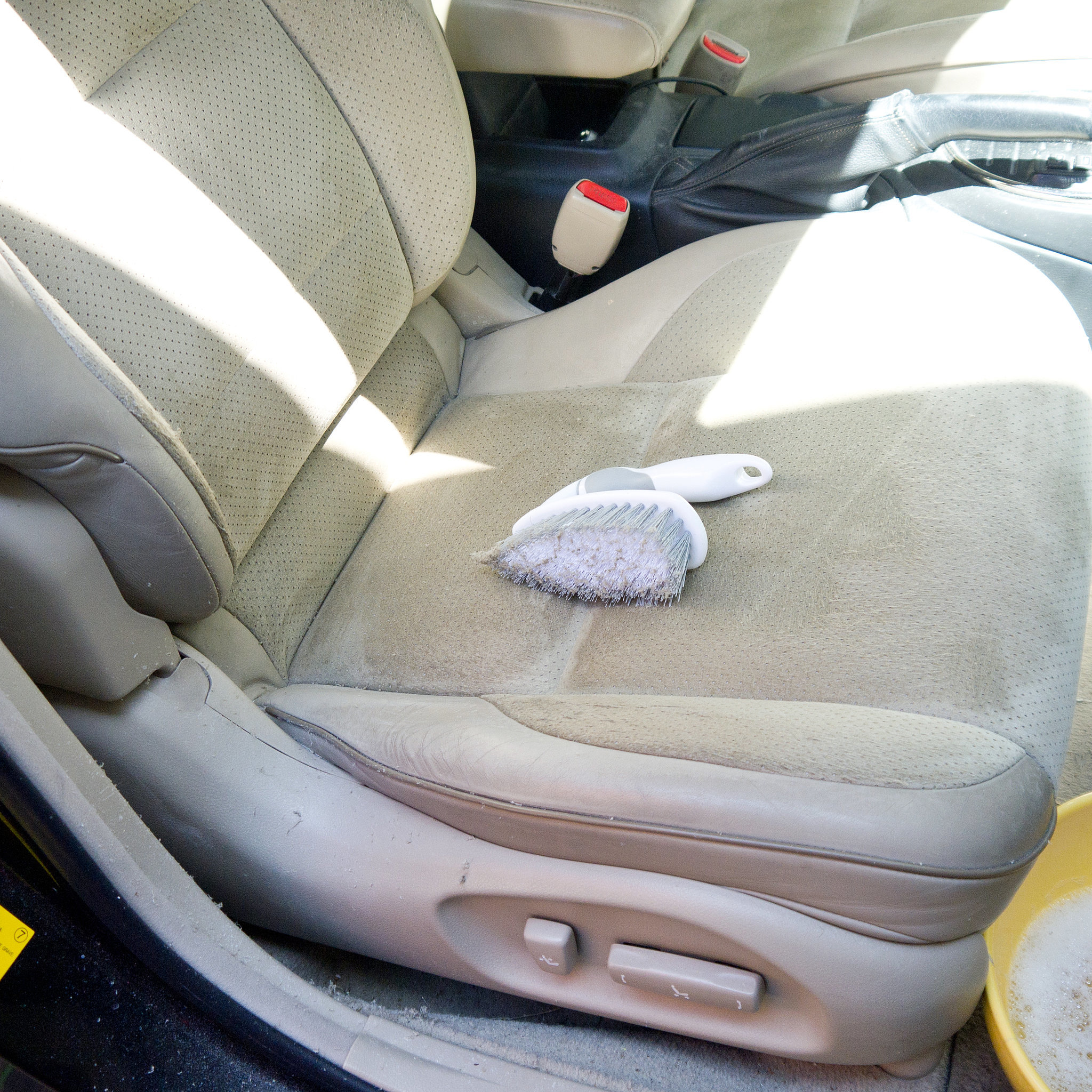 how to clean car seats popsugar smart living ForHow To Clean Interior Car Seats